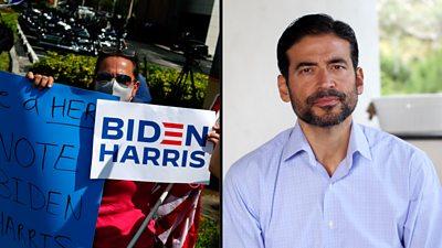 Latino voters composite