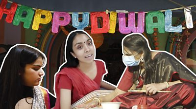 Diwali composite image