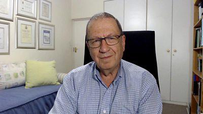 Prof Barry Schoub, virologist