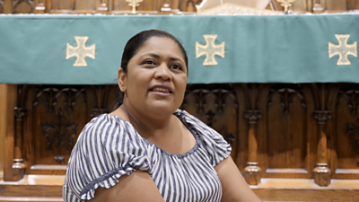 Miriam Vargas seeking sanctuary in the US