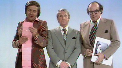 Des O'Connor, Ernie Wise and Eric Morecambe