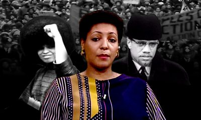 Black Power photo montage