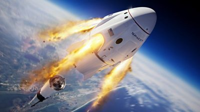 SpaceX: Resilience takes four astronauts to ISS