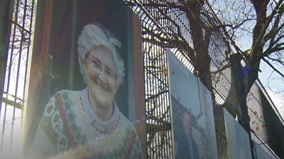 The Derry art project highlighting loneliness in older people.
