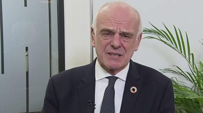 David Nabarro, World Health Organization's special envoy for Covid-19