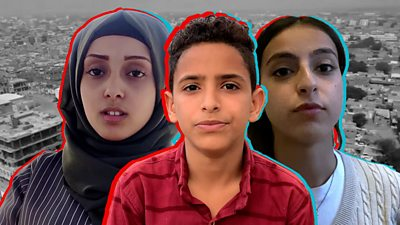 Yemen: Growing up in a war-torn country - bbc