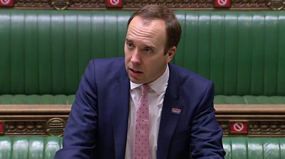 The health secretary said that more community testing would lead to life getting back to normal quicker.