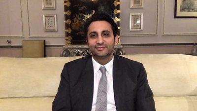 Adar Poonawalla, CEO of the Serum Institute of India