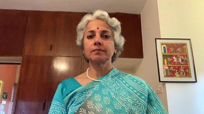 Dr Soumya Swaminathan,World Health Organizations chief scientist