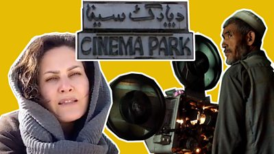 Afghan film director Sahraa Karimi