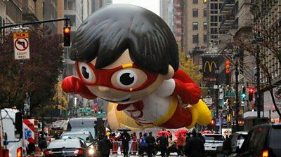 Balloon of Red Titan