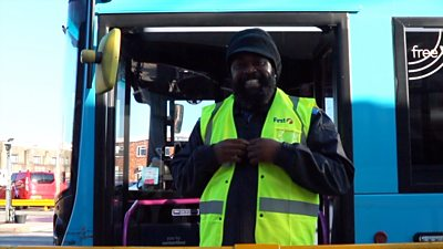 Roger the singing bus driver