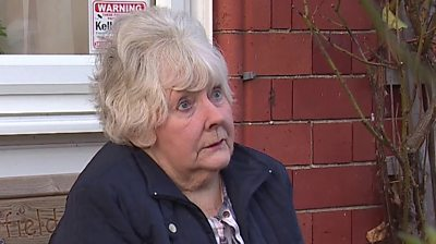 Woman who was interviewed
