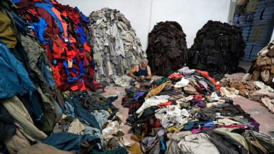 A small town in Italy has built its fortune on transforming old scraps into new clothes.