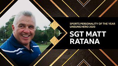 Sgt Matt Ratana