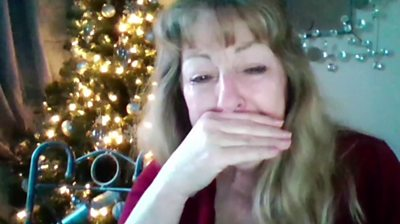 Trisha will be spending Christmas alone