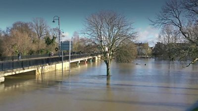 River Great Ouse in St Neots