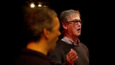 Paul and Roddy singing