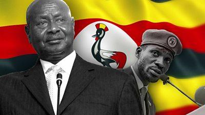 Yoweri Museveni and Bobi Wine