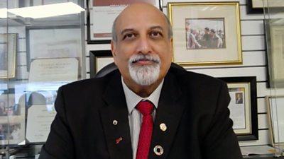Prof Salim Abdool Karim, epidemiologist