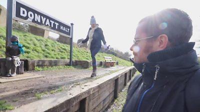 Donyatt Halt in Somerset