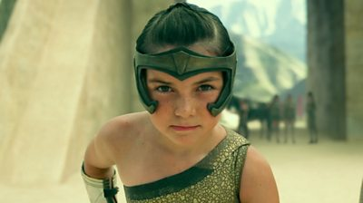 Lilly Aspell as young Wonder Woman