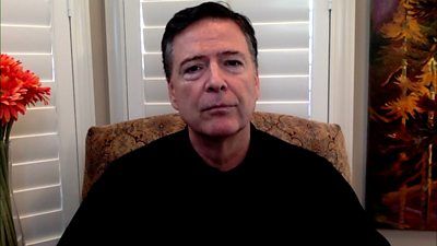 James Comey: Ex-FBI director warns of 'significant threat' to come