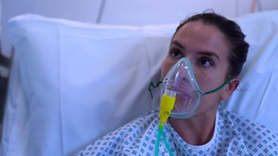 How Covid wards in one of Britain's major hospital is coping - ten months on.