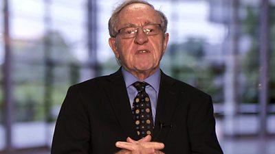 Alan Dershowitz, US lawyer