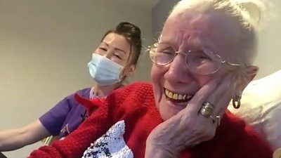 Care home resident Mary