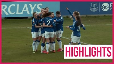 Everton Women team