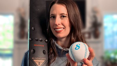 Cody Godwin with a smart baseball