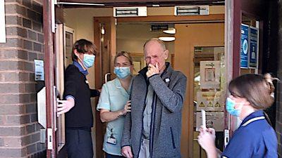 Paul Warren leaves hospital