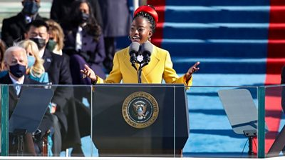 Amanda Gorman is the youngest poet to perform at a US presidential inauguration.