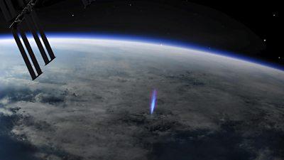 ESA blue lightning