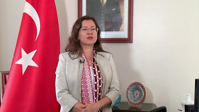 Turkey's ambassador to Rwanda Burcu Cevik