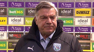 West Brom 0-5 Manchester City: Sam Allardyce 'shocked' by 'upsetting' performance