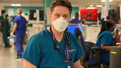 A photo of Dr Alex George