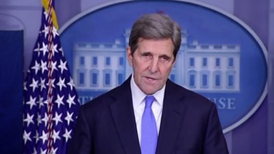 John Kerry, the Biden administration's Climate tsar, outlined a series of executive actions to curb climate change.