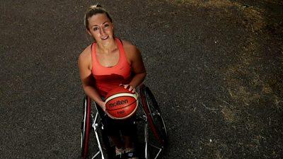 GB Wheelchair Basketball Star Sophie Carrigill