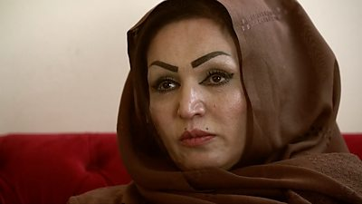 Film director, actress and policewoman Saba Sahar is one of the few people to survive an assassination attempt during a recent wave of targeted killings in Afghanistan.