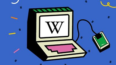 A graphic image of Wikipedia