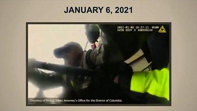 Capitol police body cam