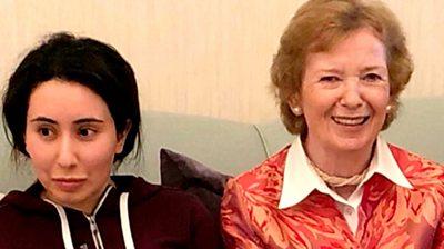 Mary Robinson 'horribly tricked' over Dubai princess