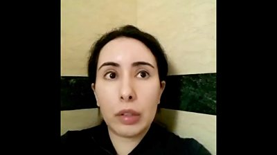 Dubai Princess Latifa: 'I'm a hostage'