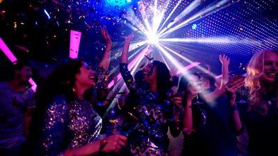 A nightclub scene