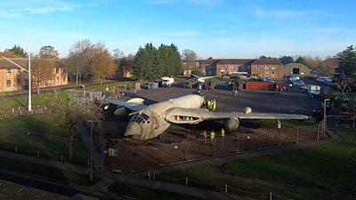 "Victor ""gate guardian"" at RAF Marham, Norfolk"