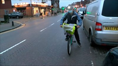 The 79-year-old paperboy
