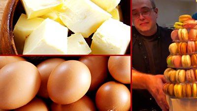 Eggs, butter and Tim Kinnaird