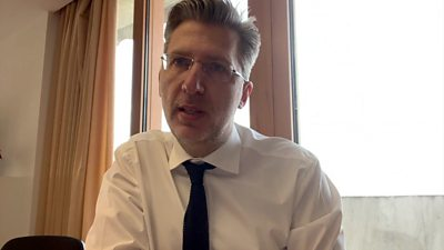 Akis Skertsos, deputy minister to Greece's prime minister